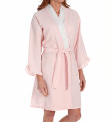Eileen West Sonnets Short Wrap Robe 5115811