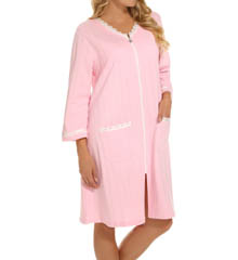 Eileen West Dandelion Short Zip Terry Robe 5115836