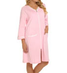 Dandelion Short Zip Terry Robe Image