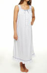 Eileen West Starfish Cove Sleeveless Mid-length Nightgown 5214477