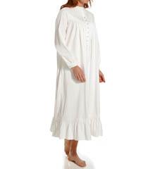 Eileen West Amore Mandarin Collar Ballet Nightgown 5215871