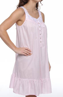 Eileen West Enchanted Forest Sleeveless Short Nightgown