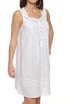 Beautiful Heart Sleeveless Short Nightgown