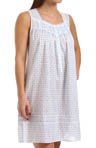Eileen West Exquisite Dawn Sleeveless Short Nightgown 5314466