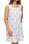 Eileen West Boathouse Weekend Sleeveless Short Nightgown 5314475