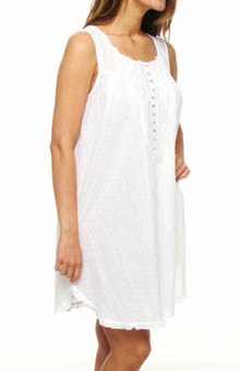 Eileen West Harbor Beauty Sleeveless Short Nightgown