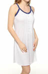 Eileen West Deep Blue Sea Short Nightgown 5314480