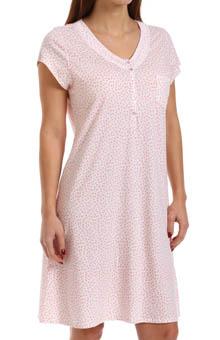 Eileen West Daybreak Cap Sleeve Sleepshirt 5314486