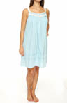 Ocean Mist Sleeveless Nightgown