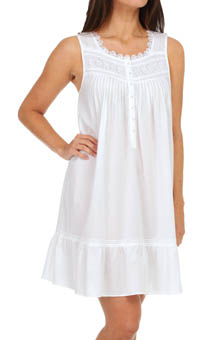 Eileen West Bellissima Sleeveless Short Nightgown