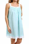 Eileen West Sparkling Sea Sleeveless Short Nightgown 5314559