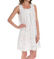 Flower Child Short Sleeveless Nightgown Image