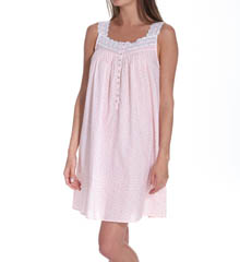Eileen West Windswept Romance Sleeveless Short Nightgown 5314579