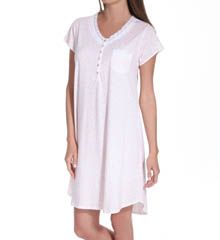 Eileen West Country Fields Cap Sleeve Nightgown 5314586