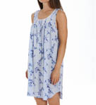 Vine Short Sleeveless Modal Nightgown Image