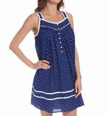 Eileen West Azure Short Nightgown 5315848