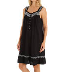 Lily Short Sleeveless Modal Nightgown Image