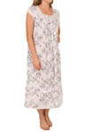 Eileen West Spanish Rose Cap Sleeve Ballet Nightgown 5414549