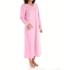 Eileen West Sardinia Ballet Fleece Nightgown 5415873