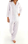 Eileen West Flower Box Top And Long Pant Pajamas 5714512