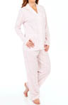 Eileen West Vintage Bloom Long Sleeve Top & Pant PJ Set 5714520
