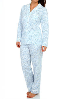 Eileen West Festival Of Lights Long Sleeve PJ Set
