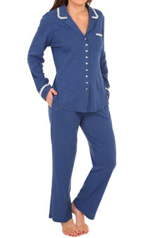 Eileen West Aegean Sea Long Sleeve PJ Set 5714541