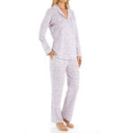 Plum Long Sleeve PJ Set Image