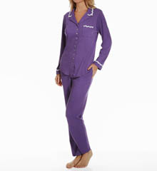 Eileen West Luna Notch Collar Pajama Set 5715866