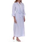 Capri Seersucker Ballet Wrap Robe Image
