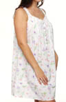 Eileen West Plus Size Morning Dew Sleevless Short Nightgown 6314455