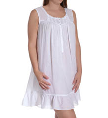 Eileen West Sun Kissed Short Nightgown Plus 6314580