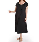 Eileen West Plus Size Radiant Spirit Cap Sleeve Nightgown 6414445