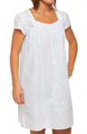 Misty Morning Cap Sleeve Short Nightgown
