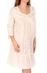 Lyrical Cove 3/4 Sleeve Button Front Robe