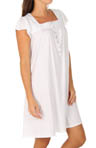 Glass Sky Cap Sleeve Short Nightgown