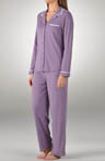 Sugar Plum Notch Collar PJ Set