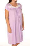 Plus Size Mulberry Dreams Cap Sleeve Nightgown