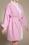 Carmel Cutie Plus Size Short Wrap Robe