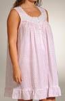 Carmel Picnic Plus Size Short Gown