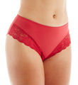Microfiber & Stretch Lace Panties Image
