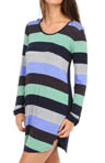 Ellen Tracy The Perfect Tee Long Sleeve Sleep Shirt 8215311