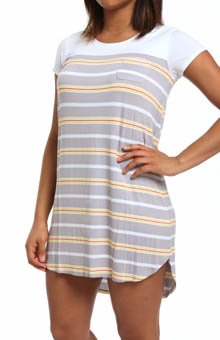 Ellen Tracy Sunshine Short Sleeve Sleep Tee 8315312
