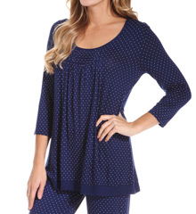Ellen Tracy Benevolence 3/4 Sleeve Top 8415329