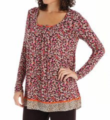 Ellen Tracy Spotlight Long Sleeve Top 8415356