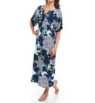 Ellen Tracy Making A Splash Long Caftan 8915314