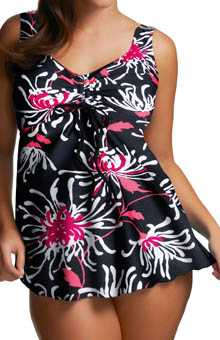 Fiora Flared Tankini Swim Top