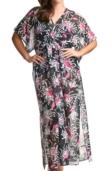 Fiora Maxi Kaftan Swim Cover Up