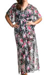 elomi Fiora Maxi Kaftan Swim Cover Up ES7006