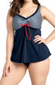 Regatta Flared Tankini Swim Top Image